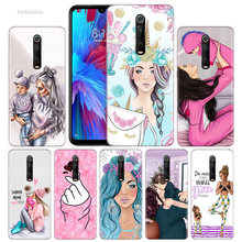 Baby Mom Girl My Unicorn Case for Xiaomi Redmi Note 7 7S K20 Y3 GO S2 6 6A 7A 5 Pro MI Play 9T A1 A2 8 Lite Poco F1 Phone Bags(China)