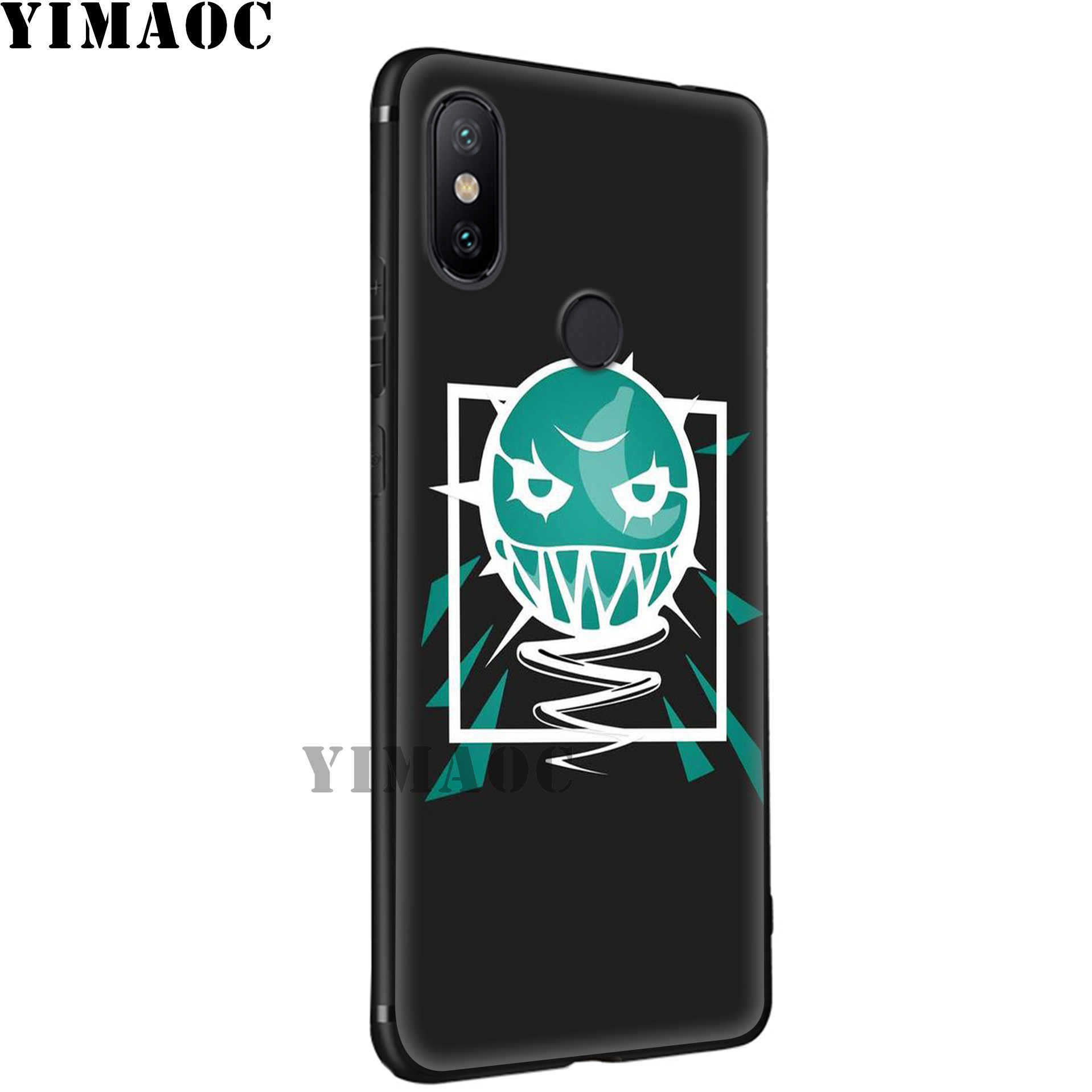 Yimaoc Rainbow 6 Siege Permainan Lembut Case untuk Xiao Mi Mi 9T 9 8 Se 6 Max 3 A1 a2 Lite Mi A1 Mi A2 CC9E CC9 6X 5X Pocophone F1
