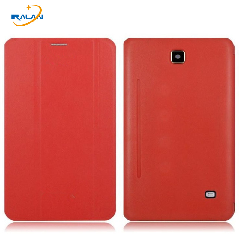 2018 hot 7.0 Inch Smart Leather Book Case For Samsung Galaxy Tab 4 7.0 T230 T231 T235 Tablet wholesale Cover+free Stylus pen ultra thin smart flip pu leather cover for lenovo tab 2 a10 30 70f x30f x30m 10 1 tablet case screen protector stylus pen