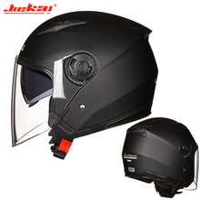JIEKAI casco abierto Para Motocicleta, Capacete Para Moto de carreras, Vintage