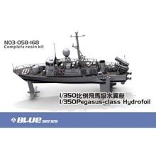 OHS Orange Hobby N03058168 1/350 Pegasus class hydrofoil Battle Ship Plastic Assembly Scale Military Ship Model Building Kits