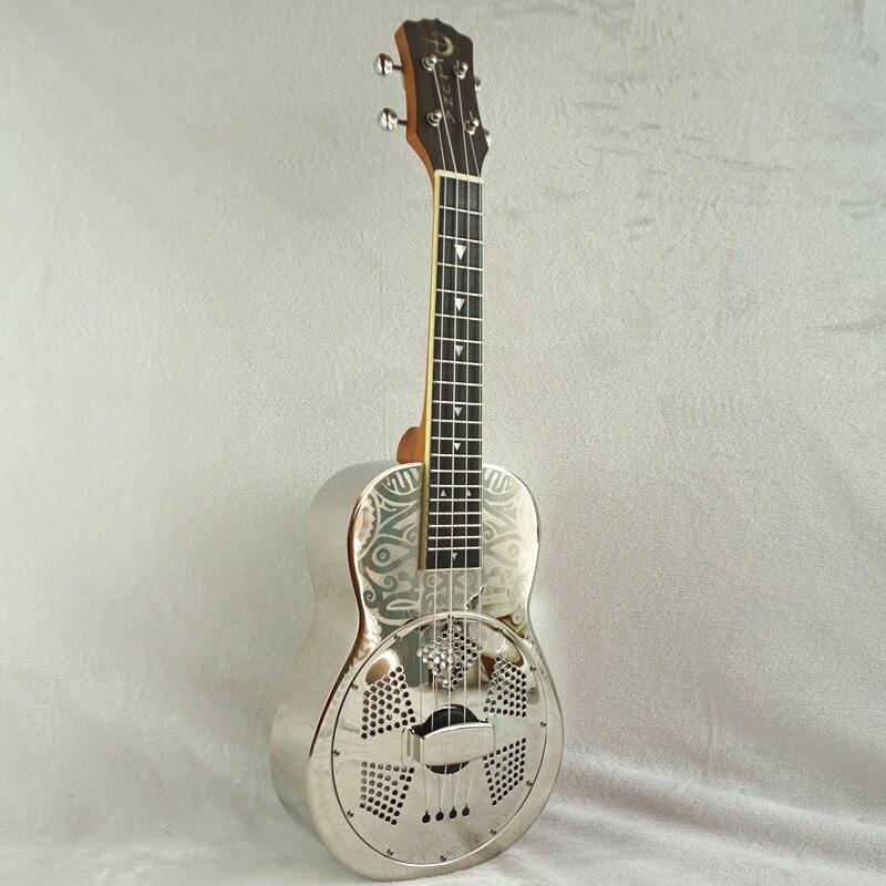 ᐅLuna latón cuerpo resonador ukulele patrón, caja libre, Aquila ...