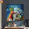Картина по номерам художественная краска по номерам Сделай Сам абстрактный пейзаж художника ручная работа цветное украшение картина масло...