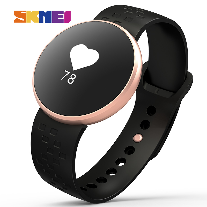 SKMEI Smart Watch Men Luxury Fashion Brand Waterproof Heart Rate Pedometer Sport Wristwatches Women Bluetooth Relogio Masculino