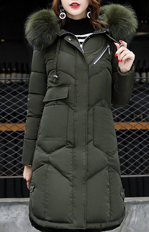 Manteau Femmes Capuchon Fausse Fourrure À Longues Puffer Zip Classique En Parkas Fermeture Manches 6Zq6wE1