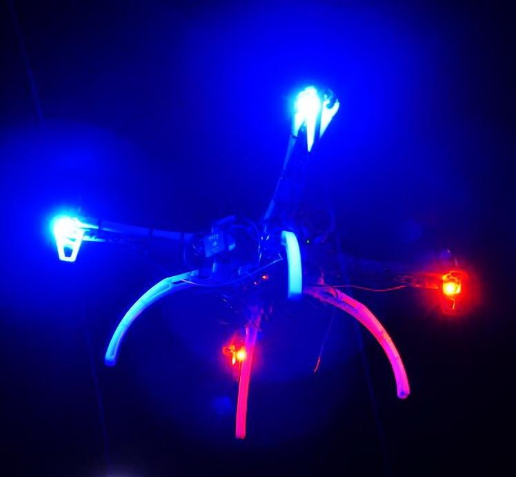 DIY Model Aircraft UAV LED Night Lights Flashing Lights Breathe Light Always Lit Light For Model Aircraft 5-10W Glare