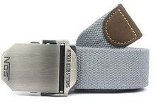 2016 NN Caliente Hombres Cinturón de Lona Al Aire Libre Equipo Militar Occidental Cinturon Correa de Los Hombres Cinturones de Lujo Para Los Hombres Tácticos Marca Cintos