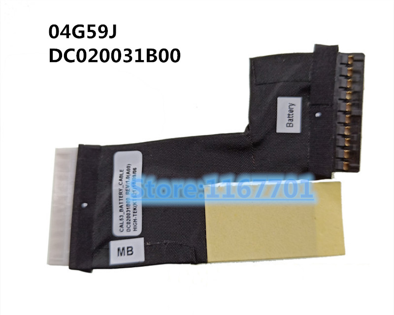New Original Laptop/notebook battery adaptor cable for <font><b>Dell</b></font> Inspiron 15 G3 <font><b>3779</b></font> G3 3579 04G59J CAL53 DC020031B00 image