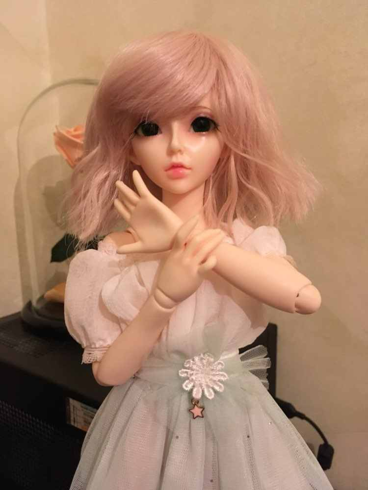 BJD 1 / 4doll-Celine Joint Doll Free Eyes High Heel Feet Christmas Gifts