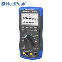 HoldPeak Digital Multimeter HP 770D High Accuracy Auto Range True RMS 40000 Counts NCV AC DC Voltage Current Ohm Tester