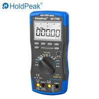 Holdpeak multímetro digital HP 770D de alta precisão faixa automática true rms 40000 contagens ncv ac dc tensão corrente ohm tester|multimeter voltmeter|digital multimeter voltmeter|holdpeak multimeter -