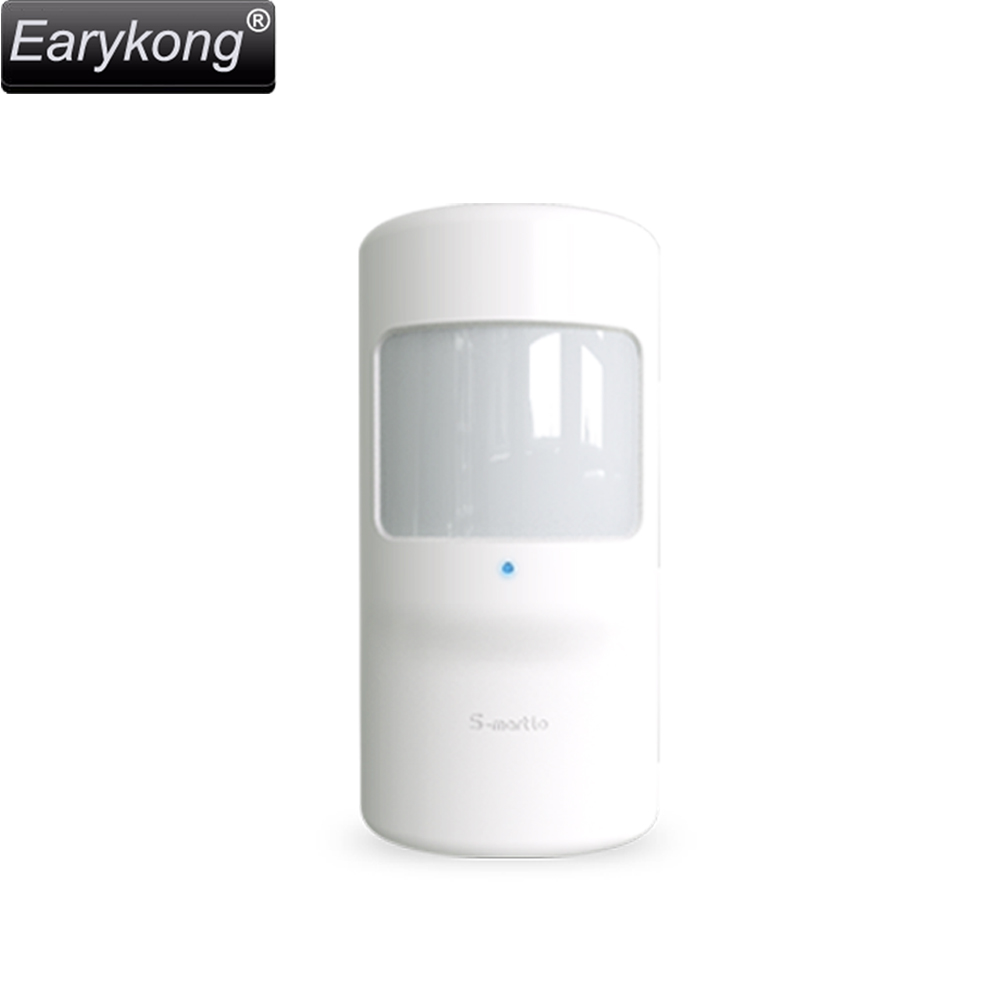 2017 Free Shipping 433MHz Wireless Detector, Motion Sensor, For G90B / Wifi / PSTN GSM / Home Burglar Alarm System forecum 433mhz wireless magnetic door window sensor alarm detector for rolling door and roller shutter home burglar alarm system