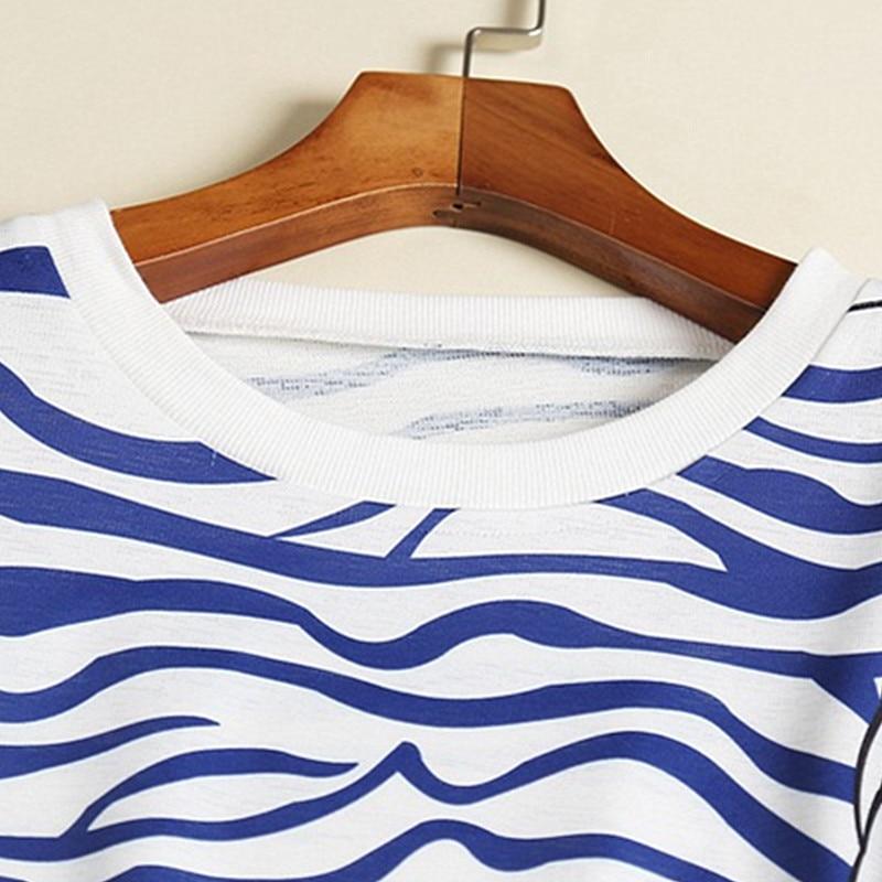 T Tricoter En Blanc Ensemble Mode Haute À Pantalon Coton Pièce Rides Bande Conjunto Feminino Ventilation Piste shirt Qualité Femme Automne 2 De 1SSv8Oq