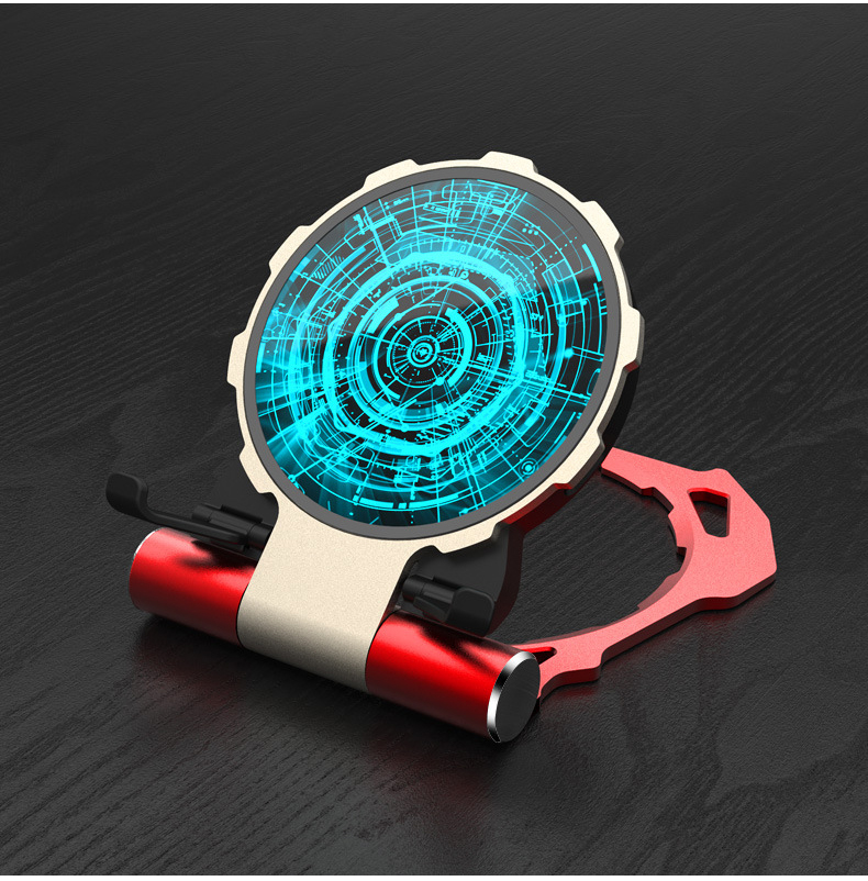 Metal Iron Man Wireless Charger (12)