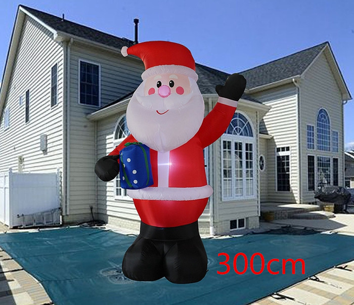 10 Foot Inflatable Portable Up Indoor And Outdoor Lawn Yard Home Decoration Hold Box In Pendant Drop Ornaments From Garden On