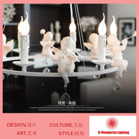 6 Heads NEW 2014 LED Crystal Chandeliers Lights Artistic Modern Crystal Lamps Aisle High Power Lights