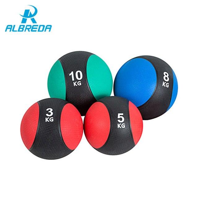 ALBREDA New Gravity Ball Fitness Exercise Ball Gym Muscle rehabilitation Traning Medicine ball Enhance Body Strength And Energy