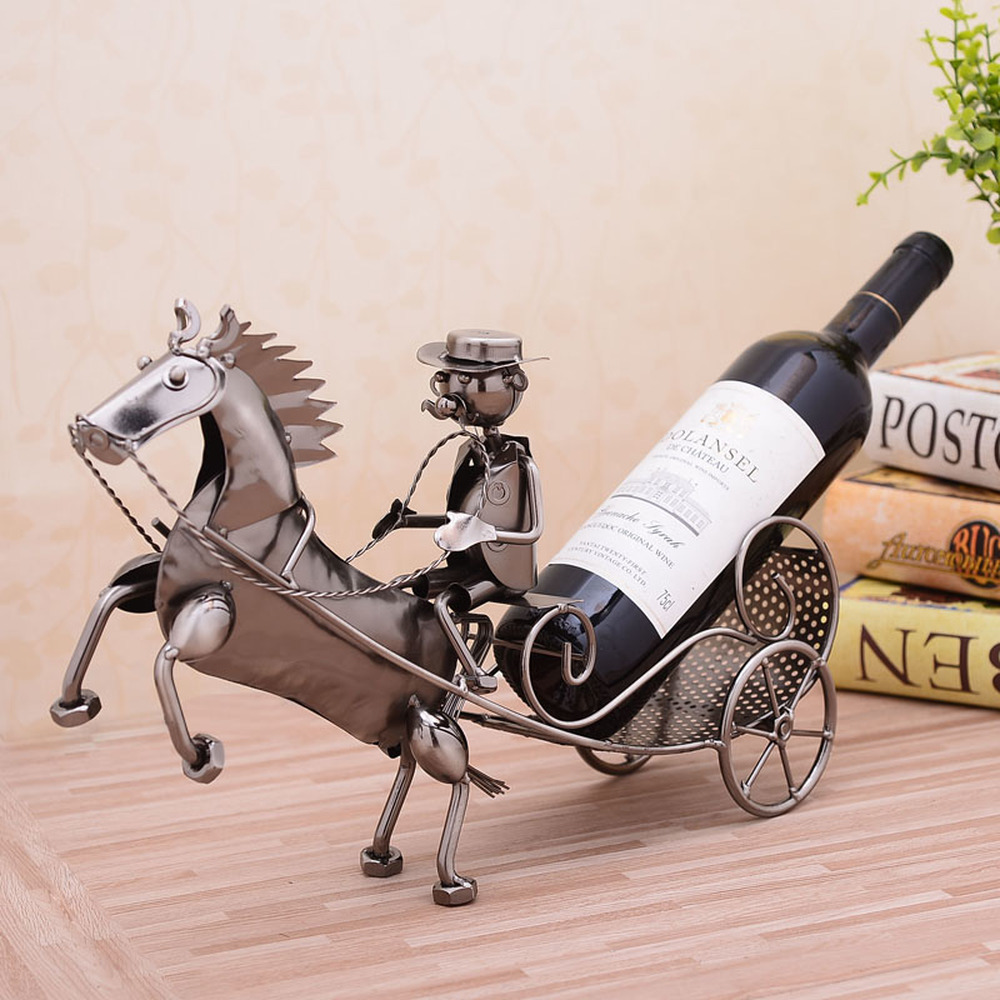 A PCS chariot casier à vin cave à vin décoration maison moderne modèle maison cuisine décoration mariage cadeau (sans vin) AP517924