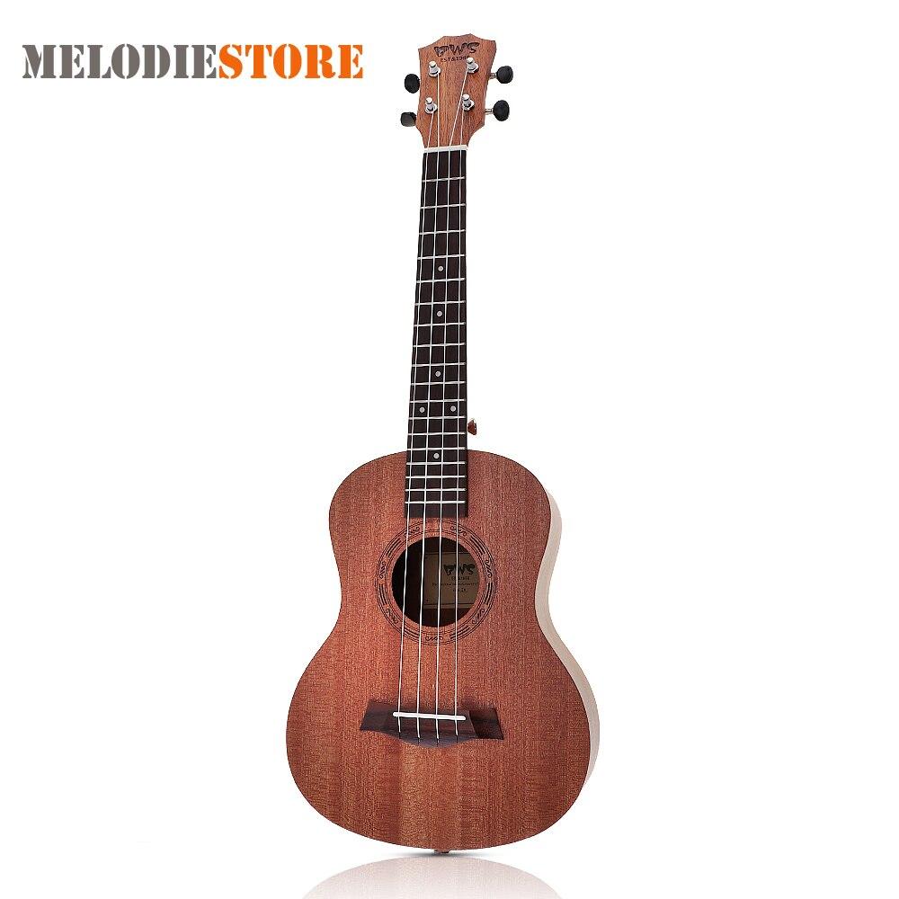 26 Inch 18 Fret Tenor Ukulele Acoustic Cutaway 4 String Guitar Mahogany Wood Ukelele Hawaii Guitarra
