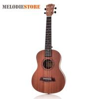 26 Inch 18 Fret Tenor Ukulele Acoustic Cutaway 4 String Guitar Mahogany Wood Ukelele Hawaii Guitarra Musical Instruments