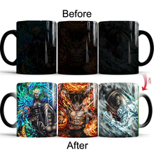 Drop Shipping One Pieces Coffee Mugs Color Change Cups and Creative Tea Magic Mark Drinkware 2019 Hot Sale