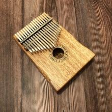 цена на 17 Key Kalimba African Solid Mahogany Thumb Finger Piano Sanza 17 keys Solid Wood Kalimba Mbira Thumb Free Shipping Kalimba