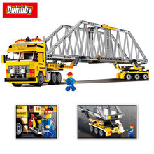 Lepin 02041 City Series Heavy Truck loader Building Block Bricks Toys Kids Gifts 389Pcs Compatible 7900