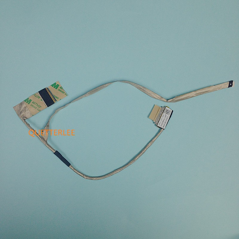 New Free Shipping For DELL INSPIRON 5721 3721 5737 VAW10 LVDS LCD LED SCREEN VIDEO FLEX CABLE DC02001MH00 DP/N 0249YD new notebook led lcd screen lvds video flex ribbon connector cable for lenovo a720 a730 a520 dd0wy1lc100 laptop series