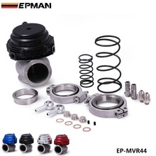 EPMAN – MVR 44mm V Band External Wastegate Kit 24PSI Turbo Wastegate with V Band Flange High Quality EP-MVR44
