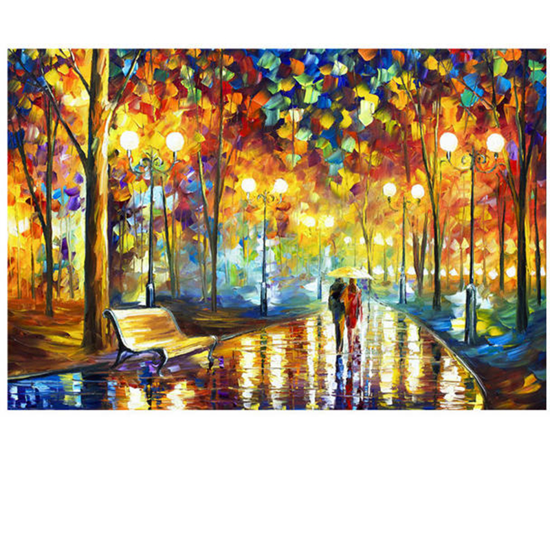 """1000 Pieces A3 Mini Smallest Landscape Paper Puzzle Difficult Toys Adults Jigsaw Puzzle Students DIY Gift(Size 14.9""""x 10.2)-in Puzzles from Toys & Hobbies"""