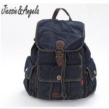Jiessie & Angela casual Women Backpack Travel bags Girls denis vintage school backpack mochila feminina backpacks teenage girl