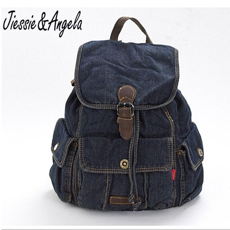 casual font b Women b font font b Backpack b font Travel bags Girls denis vintage