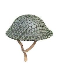 6e50509012bf7 SEGUNDA GUERRA MUNDIAL WW2 REINO UNIDO MK2 net capacete tampa-Mundo Loja  militar Do Exército Britânico