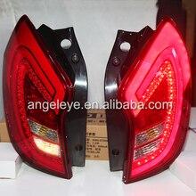2011-2013 год для Ssangyong Korando C светодиодный фонарь светильник s задний светильник s Задняя светильник WH красного цвета типа