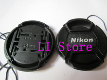 49mm Camera Lens Cap Protection Cover for Nikon With Anti-lost Rope Wholesale Free Shipping