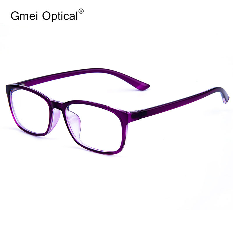 Gmei Optical Ultralight Square Small Face Glasses Frame TR90 Men And Women Brand Designer Presbyopic Optical Frames Oculo G6097