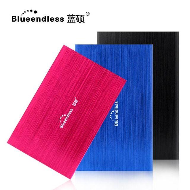 """Blueendless HDD Внешний Жесткий Диск 500 ГБ Высокая Скорость 2.5 """"жесткий диск для настольных и портативных Hd Экстерно 500 Г disque мажор externe"""