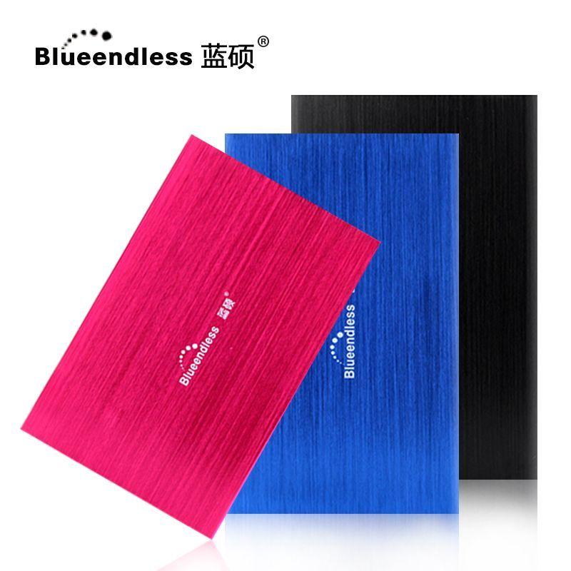 HDD Blueendless External Hard Drive 500gb High Speed 2.5 hard disk for desktop and laptop Hd Externo 500G disque dur externe