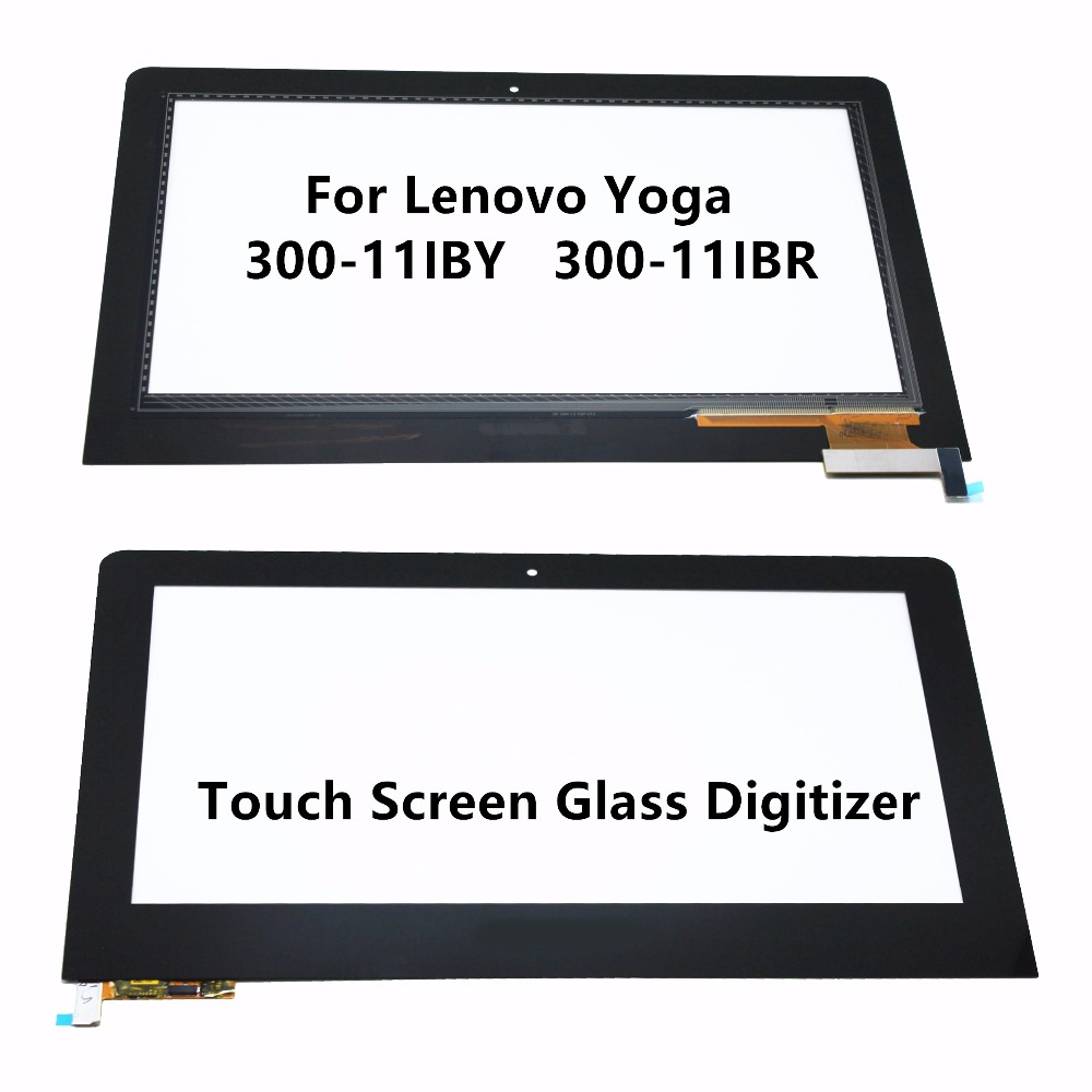 11.6 For Lenovo Yoga 300-11IBY 80M0 20594 300-11IBR 80M1 Laptop Touch Panel Screen Digitizer Glass Sensor Replacement + Bezel стоимость