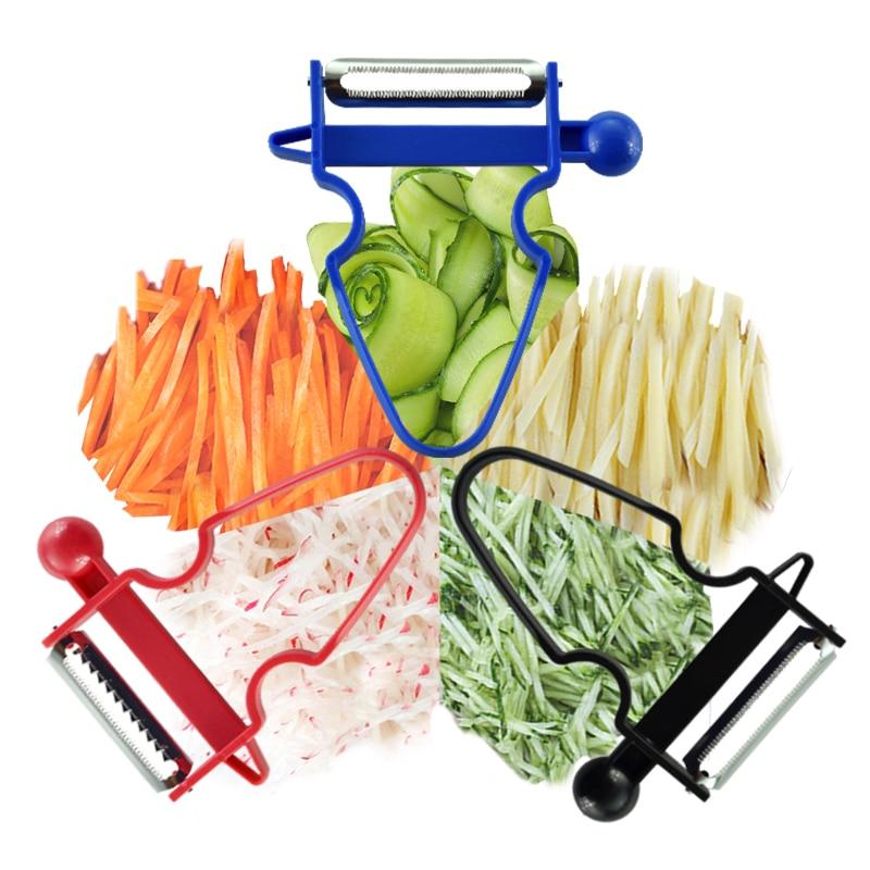 Magic Trio Peelers Slicer Shredder Peeler Trio Multifuction Vegetable Fruit