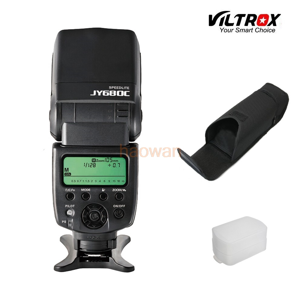 JY680C lcd ttl flash Speedlite Light flashgun For Canon 5d3 6d 7d 60d 70d 80d 600d 650d 700d 750d 760d 1200d 1300d 100d Camera
