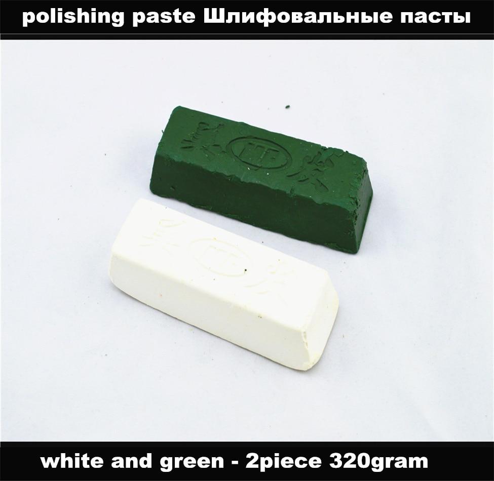 Handgeschliffenes Messerschärfsystem für Polierpaste - 320 g / 2 Stück Schleifpaste