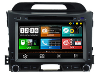 Wince 6.0 CAR DVD PLAYER Sunplus 8288T solution FOR KIA SPORTAGE R 2010 2014 Autoradio stereo multimedia player bluetooth gps