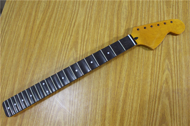 21/22 Fret Big headstock Electric Guitar Neck Rosewood fingerboard Guitar Parts musical instruments accessories s 00166 25 5 big head electric guitar neck fine quality rosewood fingerboard 22 fret