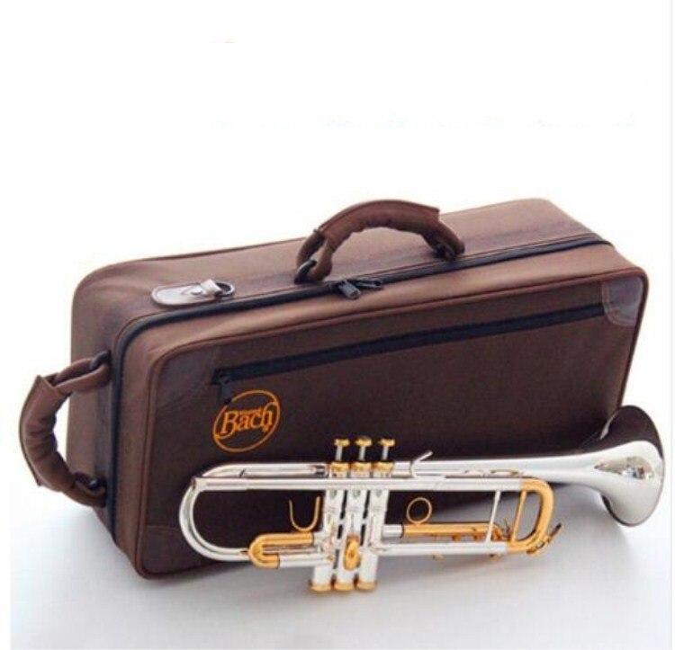 Nouvelle trompette LT180S-72 clé dorée qualité américaine argent plaqué Original trompette Bb instruments de musique professionnel