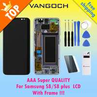 Original Super Amoled LCD Screen For Samsung Galaxy S8 Display G950 S8 Plus G955 Assembly Replacement