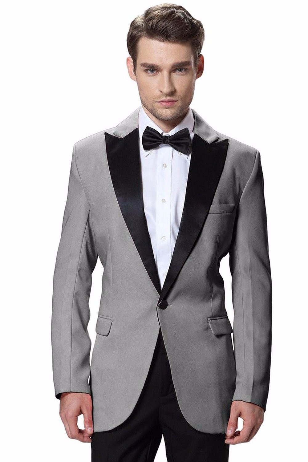 7.1 Hanayome Men's Slim Official Fit 1 Button Shawl Tuxedo Collection  suits mens men suits for wedding