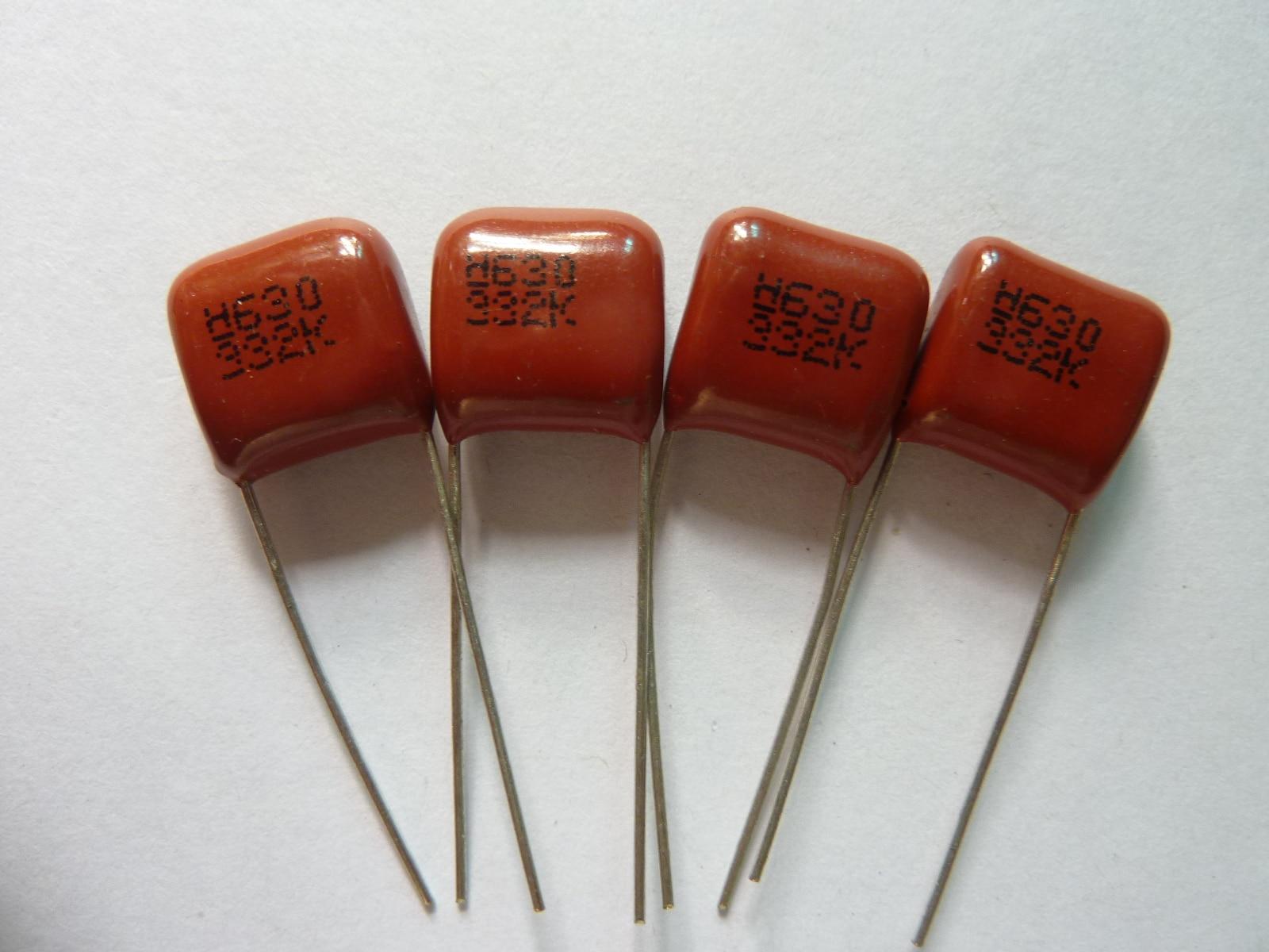 50PCS CBB 104J 630V CBB21 0.1UF 100NF P10 Metallized Film Capacitor