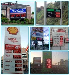 Image 3 - 4 numeri Della Carta del Conducente Uso Per 18 inch a 32 pollici LED Digital Numero di Gas del Modulo del Prezzo del Petrolio HA PORTATO Segno scheda di controllo