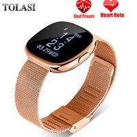 Women Smart Watch H2 Plus Metal Strap Bluetooth Wrist Men Smart Bracelet Support Sim TF Card Android&IOS Watch Multi languages